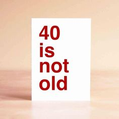 Sad Shop 40 is Not Old