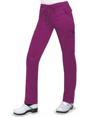 Koi STRETCH Scrubs Women's Skinny Lindsey Pant, Style #  K710 #scrubs, #fashion, #raspberry, #nurses, #uniformadvantage, #pantone2014radiantorchid, #koi