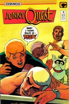Johnny Quest pictures | Jonny Quest #1 - The Sands Of Khasa Tahid; City Of Time Lost; (Issue)