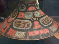 NMAI_Tlingit hat-I am pinning this hat here because it is the most appropriate board to place it on.