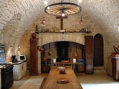 Love the stone--this is an old French Home!!