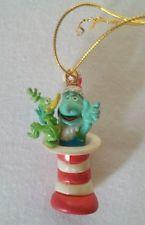 Dr. Suess Miniature Yertle the Turtle Mini Enesco Resin Christmas Xmas Ornament