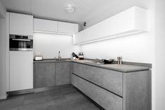 Grijze Moderne Keuken : Beste afbeeldingen van moderne grijze keukens middelkoop keukens