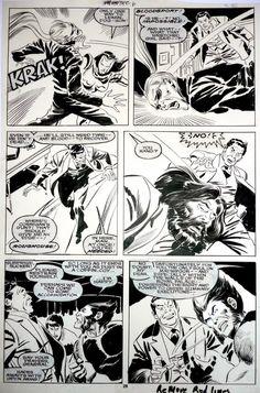 Wolverine 6 p 29 Comic Art