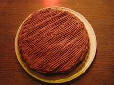 Gâteau chocolat feuillantine pour 8 personnes - Recettes Elle à Table