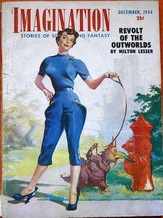 vintage sci-fi magazines | ... fantastic set of Vintage Science Fiction Magazine Covers on Flickr