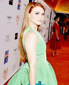 Holland Roden attends the 21st Annual Race To Erase MS event