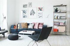 Solución 366: cómo darle calidez a un living minimalista  Foto:Boligmagasinet.dk