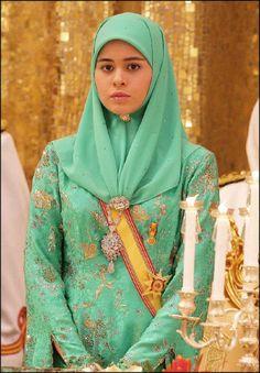 Princess Annak Sarah at Isantana Palace in Brunei Darussalam on 15 July 2006