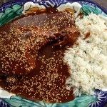 Mole Poblano de Guajolote (Turkey in Chocolate Chile Sauce)
