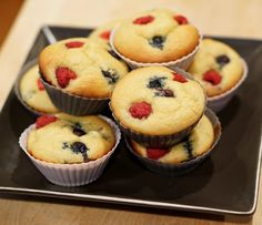 *this recipe makes 9 muffins – they're great to keep in fridge and taste great cold or quickly warmed in the microwave for a busy morning! They're about 190 calories each so keep that in mind when determining your own portion size based on your personal fitness goals. Ingredients: 1/2 cup vanilla Greek yogurt …