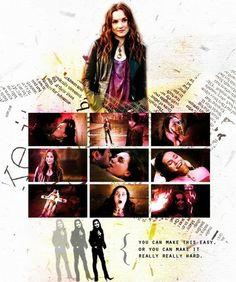 Fan Art of Meg for fans of Supernatural. #Supernatural #SPN