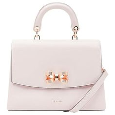 Ted Baker Lauree Bow Leather Across Body Bag Luxury Purses, Luxury Bags, Ted Baker Bag, Ted Baker Handbag, Wallets For Girls, Across Body Bag, Cute Purses, Girls Bags, Cute Bags