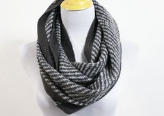 Chunky Black Infinity Scarf - ON Sale