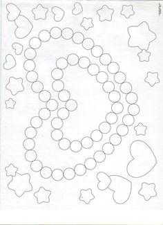 Q-tip painting sheet