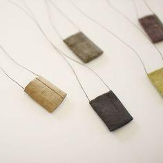 Tadashi Maruyama Amulet Pouch Obi Textile Necklace | UGUiSU Online Store