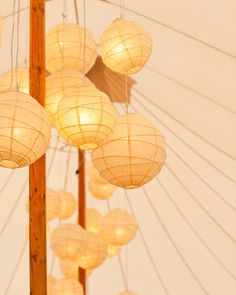 Groupings of glowing lanterns clustered around the tent's poles at this rustic bash at Sea Ranch Lodge on the California coast. Tent Wedding, Chic Wedding, Destination Wedding, Wedding Ideas, Wedding Receptions, Wedding Inspiration, Wedding Lanterns, Bali Wedding, Marquee Wedding