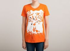 """""""The Lonely Fox"""" - Threadless.com - Best t-shirts in the world"""