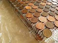The Sustainability Adventure: DIY EXTREME - THE PENNY WALL - how to