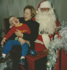 Danny wasn't into Santa for awhile...