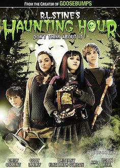 R.L. Stine's The Haunting Hour: Don't Think About It (DVD, 2007, Widescreen) NEW