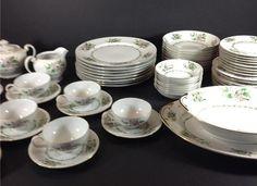 CORONADO Japan Ucagco Dinnerware Complete Service for 8 + Serving Pieces Lot 62 #Ucagco