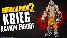 Krieg Action Figure - Borderlands 2 Borderlands 2, Action Figures, Comic Books, Comics, Cartoons, Cartoons, Comic, Comic Book, Comics And Cartoons