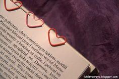 Zakładka do książki w kształcie serca wykonana ze zwykłego spinacza biurowego.  #zakladkadoksiazki #zakladka #ksiazka #lubietworzyc #DIY #handmade #instrukcja #instruction #krokpokroku #jakzrobic #howto #bookmark #heart #serce #book