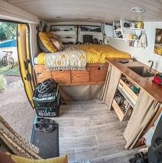 The perfect mobile home - Van Life