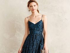 Today's style inspiration has the hottest fall wedding guest dresses with perfectly elegant neutral tones and dark autumn colors.