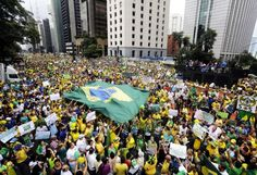 Jornada de protestas antigubernamentales en Brasil