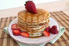 Pancake senza uova  Non mettere lo zucchero