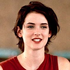 Winona Ryder - My God I wanted this hairstyle SO badly.  I actually still do.