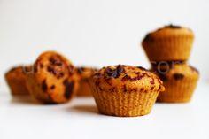 Muffin integral de manteiga de amendoim | DicaVeggie
