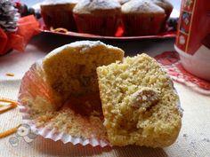 Muffin con farina di mais ed uvetta