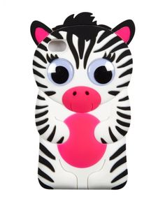 Silicone Zebra Tech Case 4 | Girls Cases & More Tech Accessories | Shop Justice