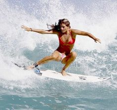 Barbados Surfing conditions are ideal for any level of surfer. Barbados is almost guaranteed to have surf somewhere on any given day of the year. Bikini Surf, Bikini Girls, Bikini Babes, Bikini Swimwear, Bikinis, Foto Sport, Surf Hair, Beach Hair, Female Surfers