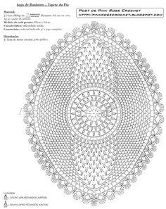 tapetes de barbante abacaxi - Pesquisa Google