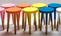 Dip Dye em móveis
