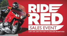 Honda   APR For 12 Months With Honda Powersports Credit Card