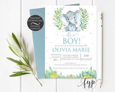 Baby Boy Elephant Ba