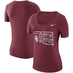 Oklahoma Sooners Nike Women's Local Elements T-Shirt - Crimson