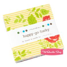 Happy Go Lucky Charm Pack Bonnie & Camille for Moda Fabrics - Fat Quarter Shop