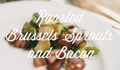 This brussels sprouts and bacon recipe is the perfect companion to grandma's main dish this holiday season! | #Ziploc #HolidayCollection #appetizer #recipes