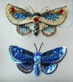 Бабочки продаются, по всем вопросам писать в директ. Ух, и приковывают эти бабочки, жуть просто,сидишь буквально ночью и все вышиваешь и вышиваешь, на этом пока остановочку сделаем, выражаю свою благодарность Людмиле Плотниковой за ее мк)))) #handembroidery #handmade #t_v_r #мореидей #ярмаркарукоделия #ярмарка_мастеров #livemaster #jewelry #embroiderycouture #embroiderybrooch #украшенияназаказ #брошьручнойработы #fashion #girls #бабочки