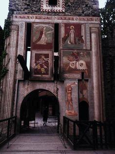 L'ingresso al Borgo medievale del Valentino a Torino! Foto di Gipsy la gitana