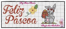 Ângela Bordados: Boa noite gente bonita .. Bullet Journal, Easter, Stitch, Gardening, Spring, Cross Stitch Owl, Cross Stitch Fairy, Pretty People, Crossstitch