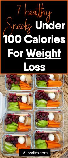 Low calorie snack ideas for weight loss
