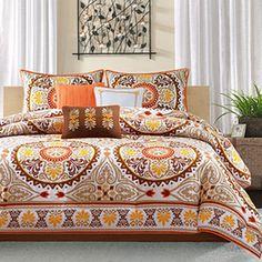 Samara Spice Queen 7 Piece Comforter Set