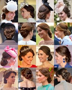 Favourite Photos of Royal Hair Updos.
